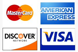 Fast Easy Accounting Accepts All Major Credit Cards