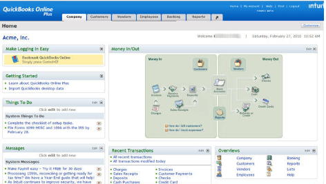 Fast Easy Accounting Contractors Bookkeeping QuickBooks Online ScreenShot
