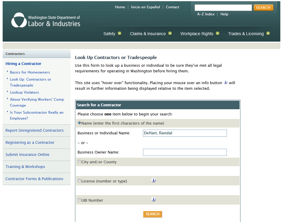 Fast Easy Accounting Randal DeHart Journeyman Plumber Licence