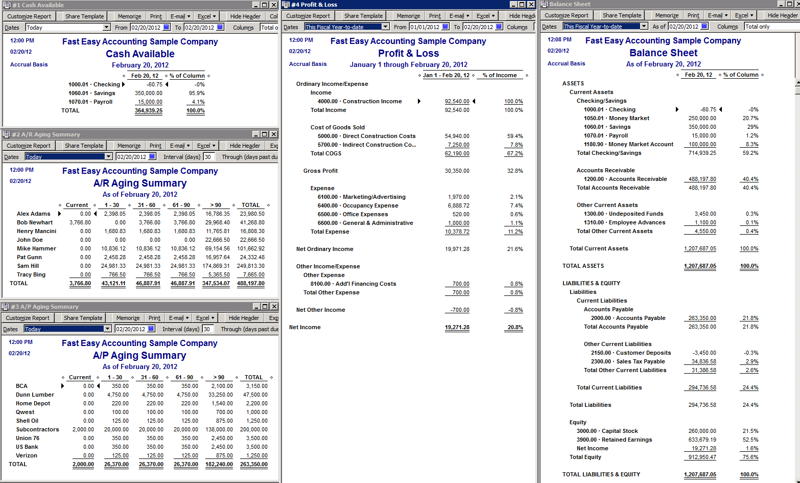 Fast Easy Accounting When You Want To Access QuickBooks Reports 24-7-365
