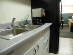 SnoKing Contractors Center Kitchenette