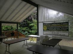 SnoKing Contractors Center Covered Deck