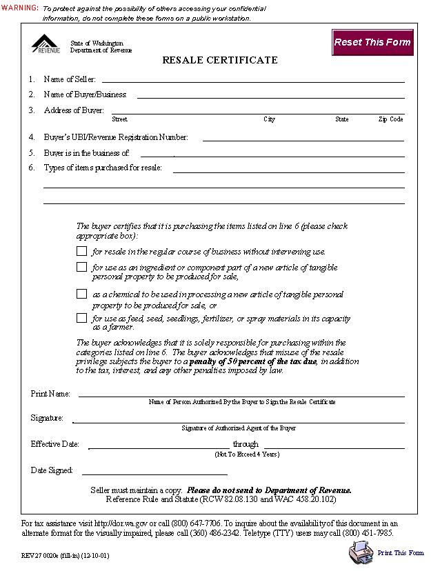 Certificate Of Resale Form Nurufunicaasl