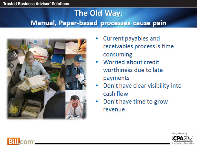 Fast Easy Accounting 206-361-3950 Bill.Com Certified Services Provider Manual Process