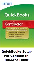 QuickBooks Setup For Contractors Success Guide Fast Easy Accounting