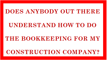 Fast Easy Accounting 206 361 3950 Contractors Bookkeeping Services Understands Your Construction Company Bookkeeping Needs