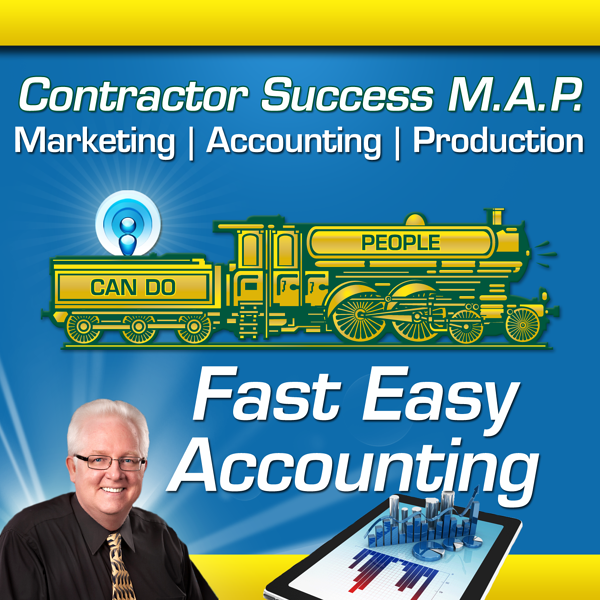 Fast Easy Accounting Contractors Success Map Album Art