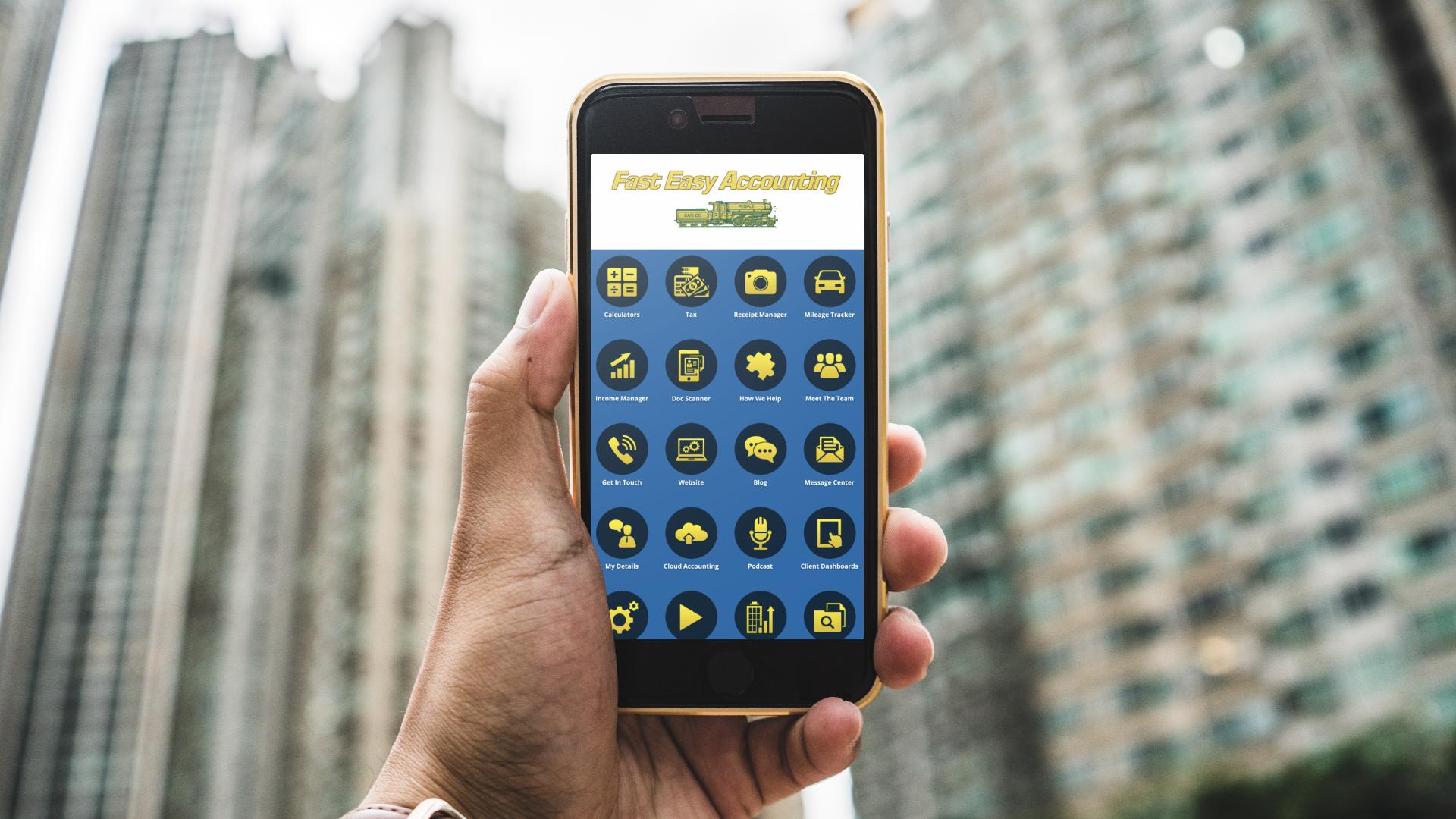 fea app building background