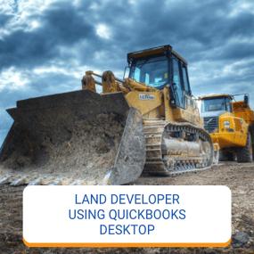 Land Developer Using QB Desktop