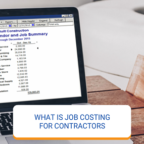 What Is Job Costing For Contractors