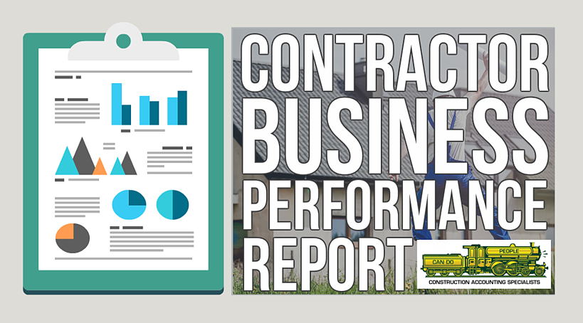 Contractor Business Performance Report Options – Fast Easy