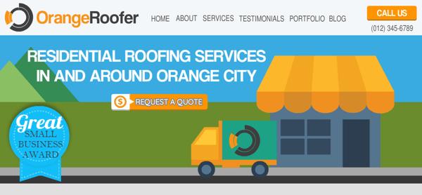 Orange Roofer