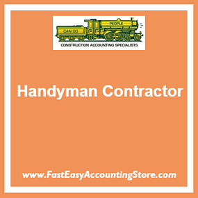 Contractor QuickBooks Set Up And Chart Of Accounts Templates For - Free contractor invoice forms christian book store online