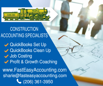 Construction Accounting Specialists At Fast Easy Accounting 206-361-3950