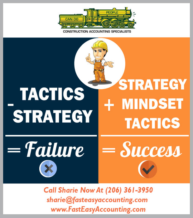 Strategy Vs. Tactics In Successful Construction Contracting Companies Like Yours