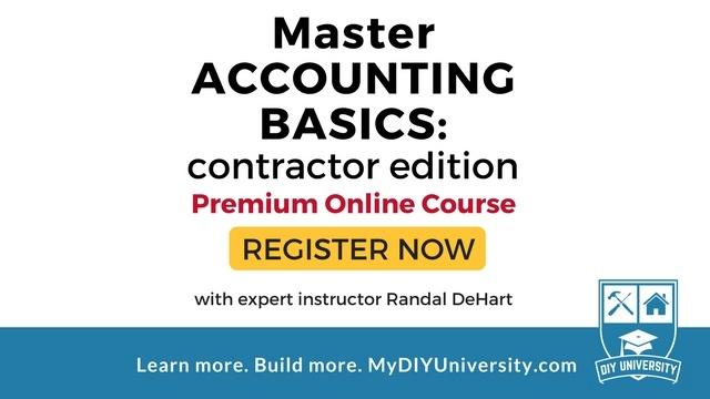 Master Accounting Basics With The Contractors Accountant Randal DeHart